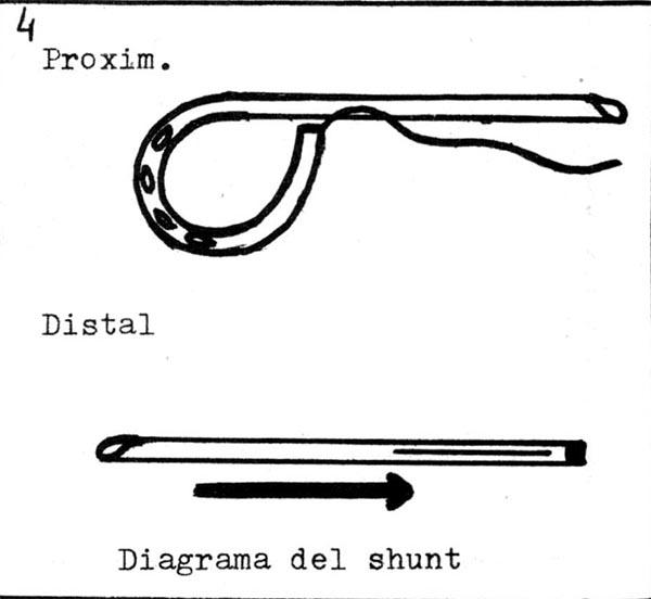 Cord/ón de cuero 1 mm Naranja x 2.95 m