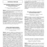 Resúmenes de trabajos de presentación oral