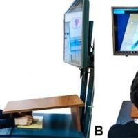 Figura 1: Estación de simulación de exoscopía.