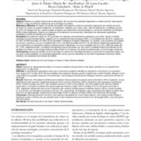 Heridos de arma de fuego en cráneo: análisis de 102 casos en población civil en una única institución. Trabajo a Premio Junior 45º Congreso Argentino de Neurocirugía