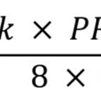 Figura 1: Ecuación de Poiseuille.