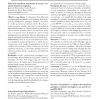 Resúmenes de los trabajos presentados en Neuro Raquis 2014