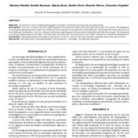 Neuralgia del glosofaríngeo presentación de dos casos