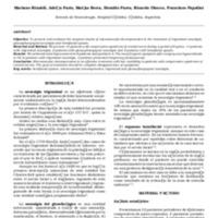 Sindromes de compresión neurovascular descompresión microvascular. Nuestra experiencia (2003-2009)